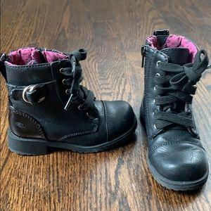 Rachel Shoes Lil Peyton combat boots toddler 8